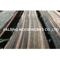 Macassar Ebony Quarter Cut Natural Black Sliced Cut For Bureau And Desk Manufactures