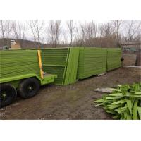 8ft x 12ft temporary metal fence panels hot sale temporary construction fence for rent hire