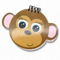 Note Pad in Monkey Shape with Wire Binding, Customized Logos are Accepted Manufactures