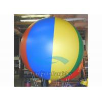 Quality Promotional Sports Balloons , Inflatable Beach Ball For Entertainment Event for sale