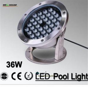 IP68 LED fountain light ,36Wpool light ,IP68 underwater light, piscina light for swimming pool 36W 24V AC LPL-A-36W-24VA Manufactures