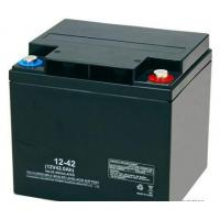 High Reliability Black 12v 42ah Agm Battery Rechargeable Long Cycle Life Manufactures