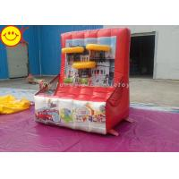 Funny Inflatable Basketball Game Inflatable Shooting Sports Games Inflatanle Basketball Hoop Manufactures