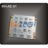 Driving console metal keypad Manufactures