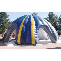 0.45mm PVC Tarpaulin Inflatable Party Tent , Marquee With Spider Legs Manufactures