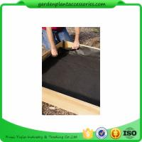 """Quality Black Raised Garden Bed Plastic Liner 3"""" Liners Are 10"""" High Four sizes: 3' x 3' for sale"""