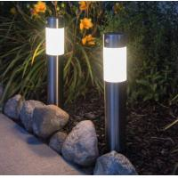 Modern Solar Bollard Lights / Stainless Steel Bollard Lights Motion Sensor For Walkway Manufactures