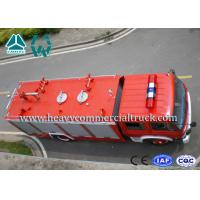 5 Tons Strong Power 4X2 Diesel Fire Fighting Truck 336 Hp Dongfeng Chassis Manufactures