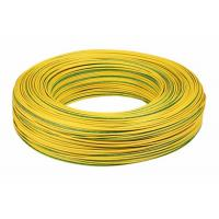 Yellow PVC Insulated Copper Wire / 14 Awg Electrical Wire UL1015 Low Eccentricity Manufactures
