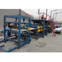 Corrugated Aluminum Steel Stud Roll Forming Machine With 17 - 44 Rows Rollers Manufactures
