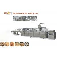 EN Standard Cereal Bar Forming Machine / Granola Bar Machine Stainless Steel Made Manufactures
