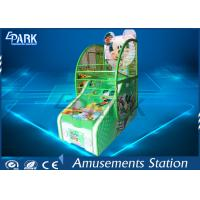 Metal Cabinet Arcade Basketball Game Machine For Entertainment Center Manufactures