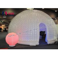 Double Pvc Strong Warm Inflatable Event Tent For Trade Show Business Manufactures