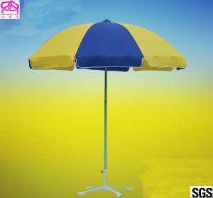 Custom Advertising Outdoor Parasol Umbrella Arc Diameter 240CM Manufactures