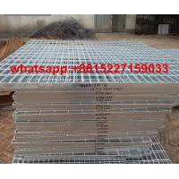 Galvanized serrated steel grating Manufactures