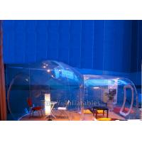 Germany Zipper Inflatable Bubble Housetransparent Snow Globe Bubble Tent Night With Single Tunnel Manufactures
