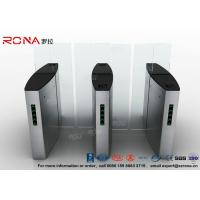 Building Access Control Turnstile Flap Barrier Automatic With Polishing Surface Manufactures