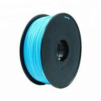 Fluorescent Orange HIPS 3d Printer Filament 1.75mm For Makerbot No Odor Manufactures