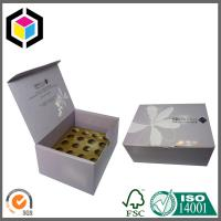 Quality Glossy CMYK Color Printing Corrugated Cardboard Packaging Box with Dividers for sale