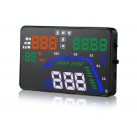 OBD2 Interface GPS Heads Up Display Speedometer Q7 Hud 5.5 Inch GPS 9V ~ 16V Dc Manufactures
