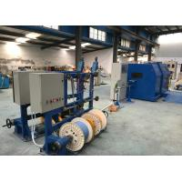 China Copper Wire single cable machine / cable laying machine Dia 0.6-3mm on sale