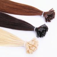 Flat Tip Human Hair Extensions 100% Brazilian Remy hair Top -10 grade Manufactures