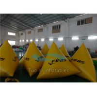 Floating Inflatable Race Swim Buoys Markers With Elastic Waist Belt Manufactures