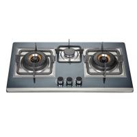 Buy cheap Three Burner LPG Gas Hob With Silver Stainless Steel Panel For Home Kitchen from wholesalers