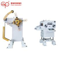 Press Feed Lines Decoiler Straightener Feeder With Coil Loading Car Manufactures