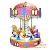 China Amusement Park Rides Manufacturer Luxury 6player Horse Carousel For Sale Manufactures