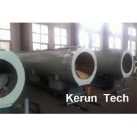 Quality Large Diameter Steel Reinforced PE Winding HDPE Pipe Extrusion Machine 800 kgs / h for sale
