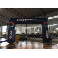 Black Outdoor 6m X 4m  Durable Inflatable Banners Arches For Events Or Promotion Manufactures