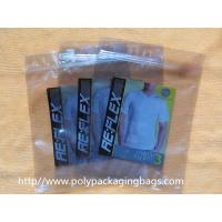 Custom T - Shirt Clear Foil Ziplock Bags Anti Static Plastic Bags Moisture Proof Manufactures