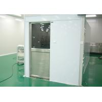 Tunnel Type Air Shower Cleanroom Electric Interlocked For Semiconductor Industry Manufactures