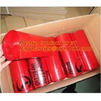 China Printed Plastic Biohazard Garbage Bag for hospital Waste, compostable Autoclave Bags, Biodegradeable Medical Biohazard on sale