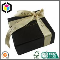 Black Color Printing Luxury Cosmetic Packaging Box; Super Quality Gift Paper Box Manufactures