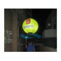 Quality Digital Printing Backpack Balloon Outdoor Advertising Balloon with Air Pump for sale