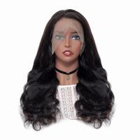 Soft Healthy Full Lace Human Hair Wigs Thick Remy Natural No Shedding Manufactures