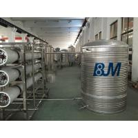 Reverse Osmosis / Ultra Violet Rays Drinking Water Treatment Systems for Mineral Water Manufactures
