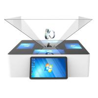 Buy cheap 180° 270° 360° 3D Holographic Display Interactive Touch Pyramid Jewelry Kiosk from wholesalers