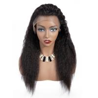 180 Density Full Lace Yaki Straight Human Hair Wigs For Black Women Manufactures