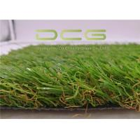 30mm height U Shape Artificial Grass Garden / Fake Plastic Grass Manufactures