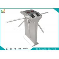 Automatic Tripod Turnstile Gate Bidirectional Arm Drop Barrier Swimming Hall Access Manufactures