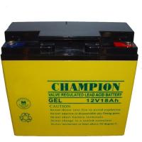 China 12V18AH GEL Battery for Solar Quality Sealed Lead Acid Storage battery rechargeable on sale