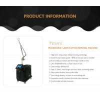 pico second q switched nd yag laser freckle chloasma / tattoo removal picosecond 755nm Manufactures