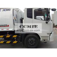 Hydraulic Rear Loader Garbage Trucks for Compressing / Collecting Trash Manufactures