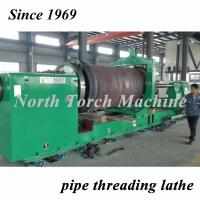 China Energy Saving Pipe Lathe Machine Low Noise For Mining Pipe High Performance on sale
