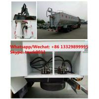 Quality Factory customized dongfeng 8*4 LHD Euro 3 315hp diesel 40m3 poultry feed for sale