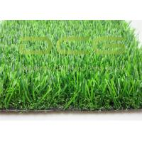 Fake Artificial Grass For Yard UV Resistance Environment Friendly Material Manufactures