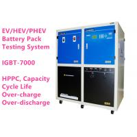 High Voltage Lithium Ion Battery Analyzer BTS-7000 Battery Module Pack Cycler Performance Testing System Manufactures